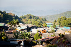 Doi Pui village in Thailand Royalty Free Stock Images