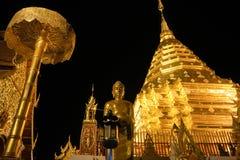 Doi Su Tep tempel, Thailand Fotografering för Bildbyråer