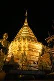 Doi Su Tep tempel, Thailand Arkivfoton