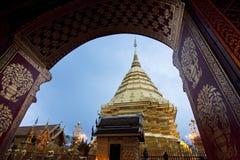 Doi Su thep świątynia Zdjęcia Stock