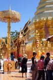 Doi Suthep寺庙 库存图片