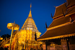 Doi Suthep royaltyfri bild