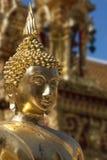 Doi Suthep Buddhist Temple - Chiang Mai - Thailand Royaltyfria Foton