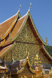 Chiang Mai - Doi Suthep Buddhist Temple - Thailand Stock Images