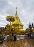 Doi Suthep Chiang Mai Royaltyfria Bilder