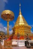 Doi Suthep, Chiang Mai, Thailand. Doi Suthep with blue sky and sunrise Stock Photos