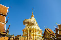 Doi Suthep Chiangmai, δημοφιλής ναός σε Chiangmai στοκ φωτογραφίες με δικαίωμα ελεύθερης χρήσης