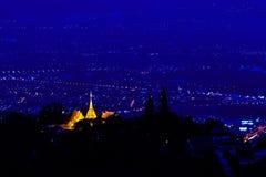 Doi Suthep pagoda Obraz Royalty Free