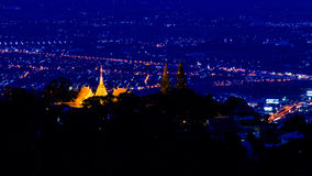 Doi Suthep Pagoda Photo stock