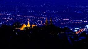 Doi Suthep pagoda Stock Photo