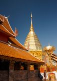 Doi Suthep, Chiang Mai, Thailand. Doi Suthep, Photo taken after a few days of death of King - Bhumibol Adulyadej the longest reigning monarch in the world royalty free stock images