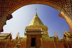 Doi Suthep Tempel Stockfotos
