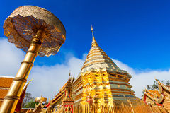 Doi Suthep Tempel Stockbild