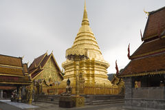 Doi Suthep, tempel in Chiang MAI, Thailand Royalty-vrije Stock Afbeelding