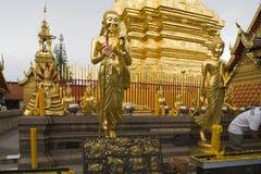 Doi Suthep, tempel in Chiang MAI, Thailand Royalty-vrije Stock Foto
