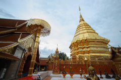 Doi Suthep Temple Stock Photo