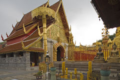 Doi Suthep, temple in Chiang Mai, Thailand Stock Photo