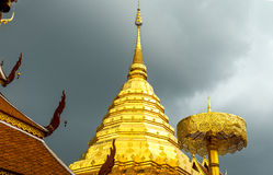 Doi Suthep Temple Chiang Mai, Thailand Jul 2015. Stock Photos