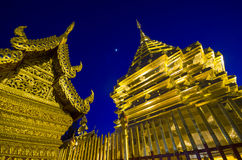 Doi Suthep Temple in Chiengmai, Thailand Stock Images
