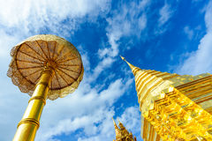 Doi Suthep temple Royalty Free Stock Images