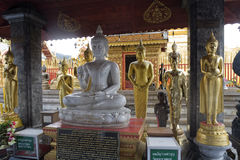 Doi Suthep, Temple In Chiang Mai, Thailand Royalty Free Stock Photography