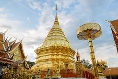 Doi Suthep temple, landmark of Chiang Mai, Thailand Royalty Free Stock Photography