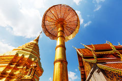 Doi Suthep. Wat Phra That Doi Suthep is the most famous temple in Chiang Mai.Northern  Thailand Stock Images