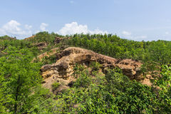 Doi Tok grand canyon in Mae Wang national park, Chiangmai Thailand Royalty Free Stock Image