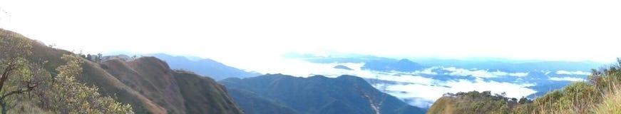 Doi Tulay u. x28; tulay mountain& x29; Panoramaansicht Stockfotos