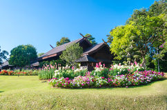 Doi Tung. Is a mountain of the Thai highlands located in Chiang Rai Province, Thailand Stock Photography