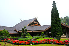 Doi tung palace Stock Images