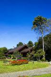 Doi Tung palace in Chiangrai in sunny day Stock Photography