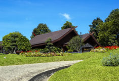 Doi Tung palace Stock Photos