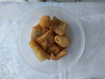 """Doigt brésilien de nourriture appelé le """"salgadinho """" images libres de droits"""