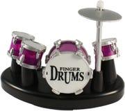 doigt de tambours Image stock