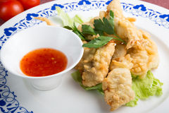 Doigts de poulet frit Image stock