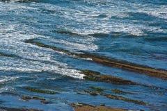 Doigts de vague Photographie stock libre de droits
