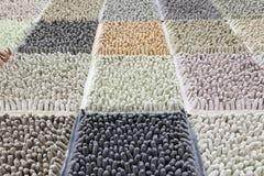 Doigts en caoutchouc colorés Images stock