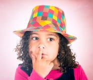 Doigts sur les lèvres Photographie stock libre de droits