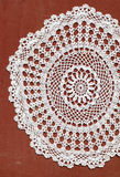 Doilie blanco Imagen de archivo libre de regalías