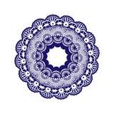 Doilie de crochet illustration stock