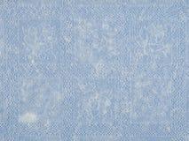 Doily δαντελλών ανασκόπησης μπλε Στοκ Εικόνες