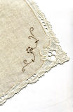 Doily with embroidery Rococo Royalty Free Stock Image