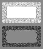 Doily Lace. Floral Pattern. Stock Photography