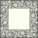 Doily. Lace. Frame. Stock Images