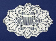 Doily quaterdecies Royalty Free Stock Image