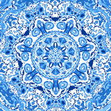 Doily round lace pattern Stock Images