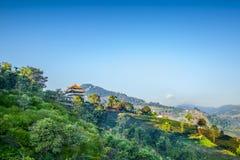 Doimaesalong chiangrai thailand. Shoot on the mountain stock image