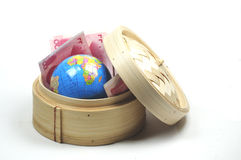 Doing business in China stock image