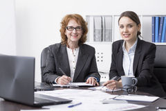 Doing business together is a pleasure Royalty Free Stock Images